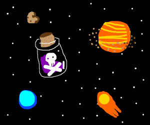Poison in space