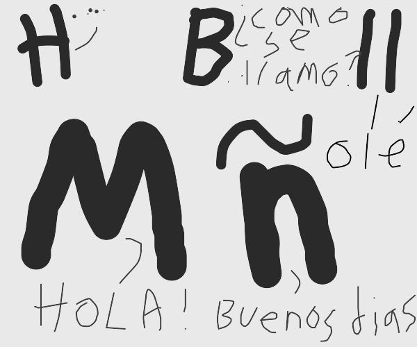 Sentient mexican letters