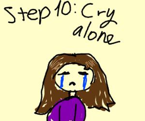 step 9. Stop after embarrassment