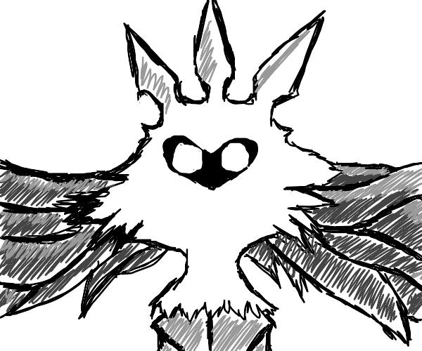 Moth-like creature