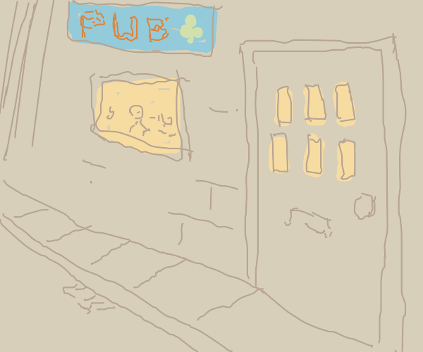 pub in the city