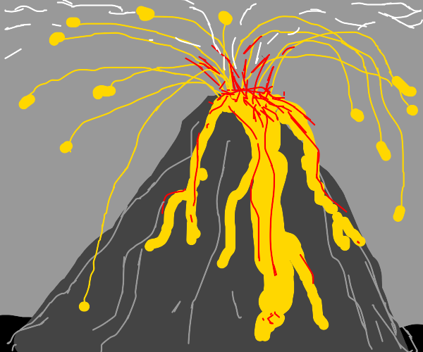 Volcanic Eruption!!