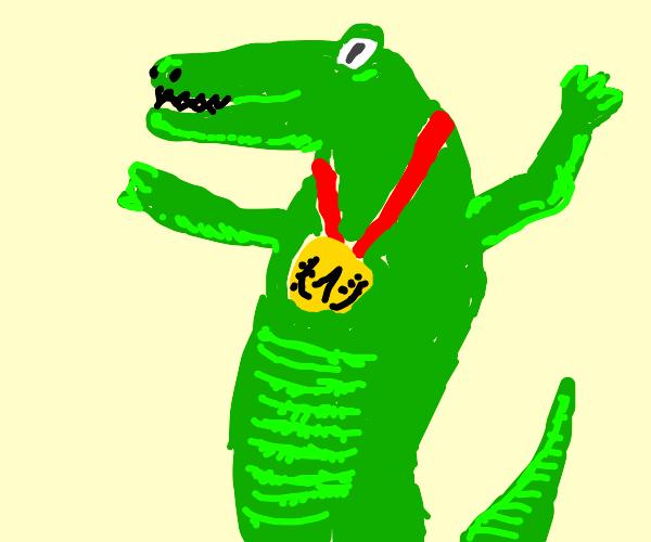 Champion crocodile