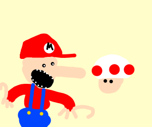 The Hungry Little Mario
