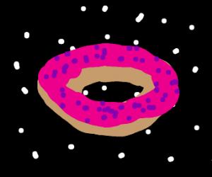 Donut in space