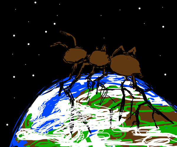 giant ant on earth