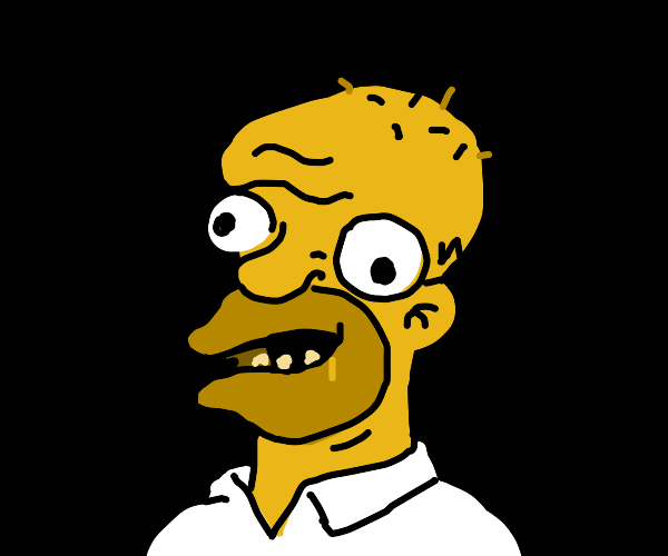 Inbred Homer Simpson