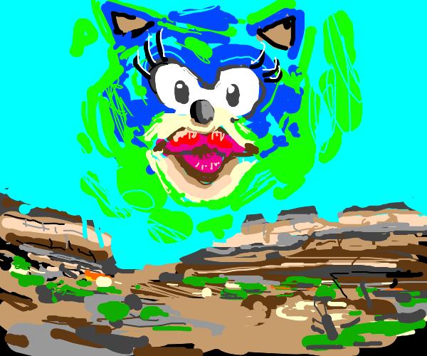 Sonic/Ciel mashup but female