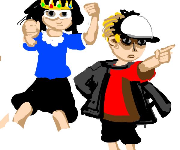 stupid kids and their jojo anime