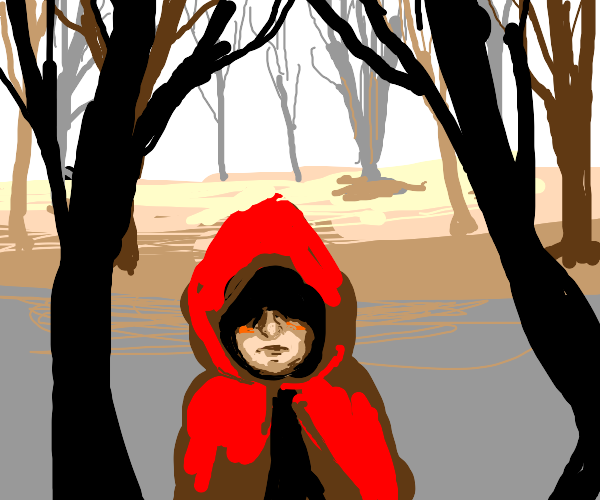 """Little red riding """"hood"""""""