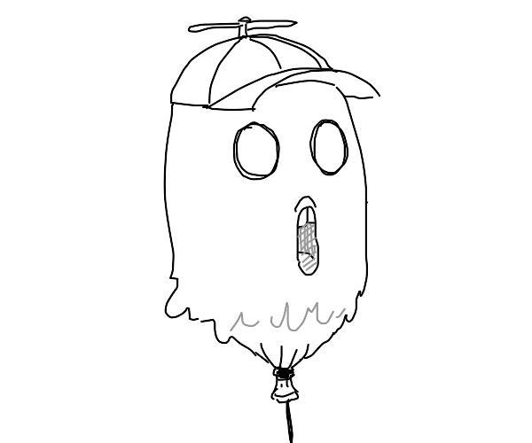 Ghost balloon boy