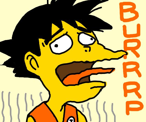 Burping Goku