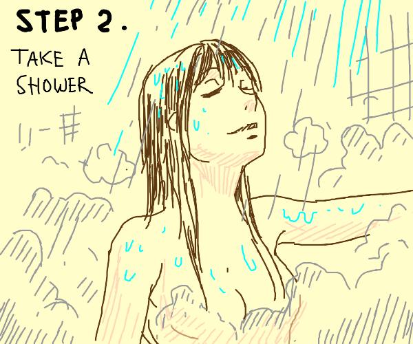 Step 1. Wake up