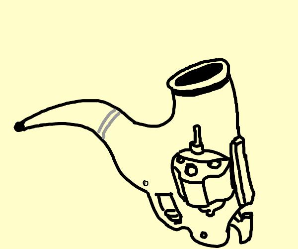 gun but it sorta looks like a pipe