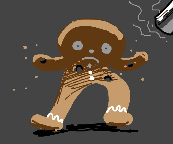 Dead Gingerbread man