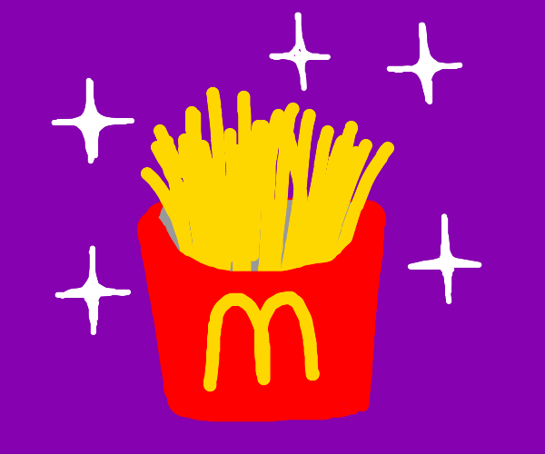 Bright McD's french fries