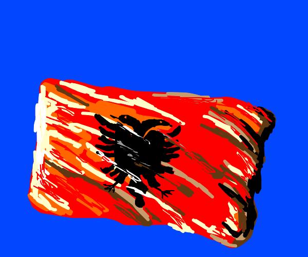 Phoenix in wood jelly