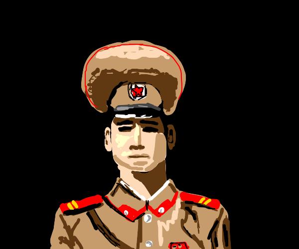 North korean police