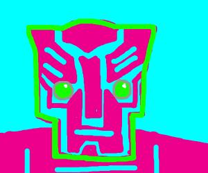 Pink transformer