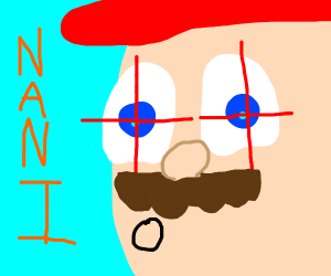 Suspicious Mario