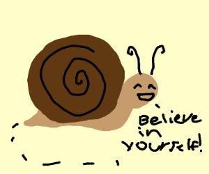 Positivity snail