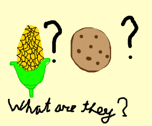 What are cookies and corn?