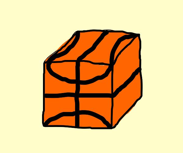 Cube basketball