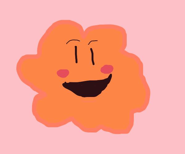 Smiley orange blotch