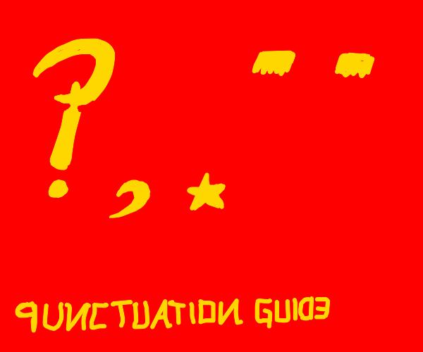 communist punctuation