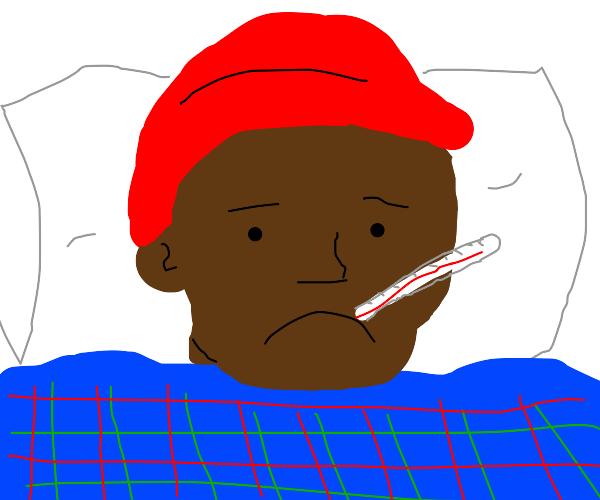 Tyrone is sick ):