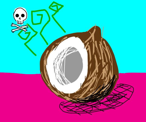 Stinky coconut