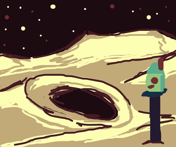 Birdhouse on the Moon