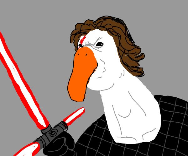 kylo ren goose