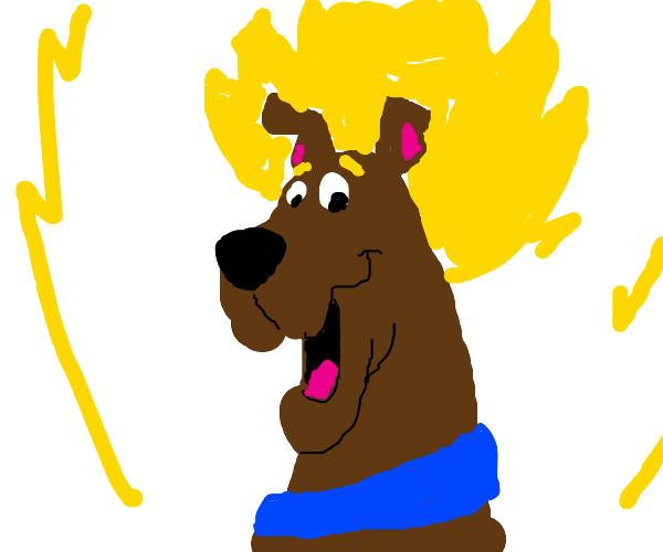 Super Saiyan Scooby Doo