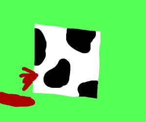 Bleeding Cow Cube