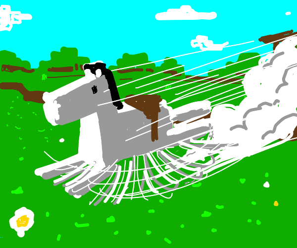 the ultimate minecraft horse