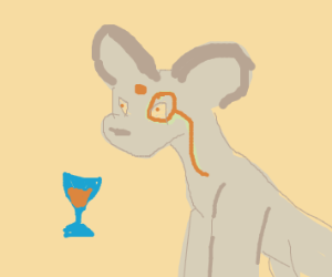 Classy Persian (Pkmn) with monocle