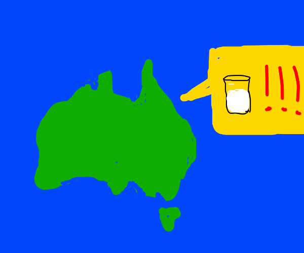 Australia needs some Milk