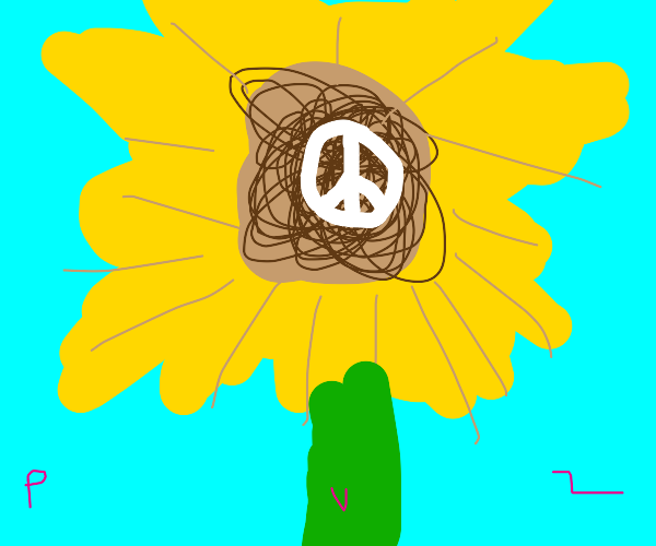 Pacifist Sunflower (PVZ)