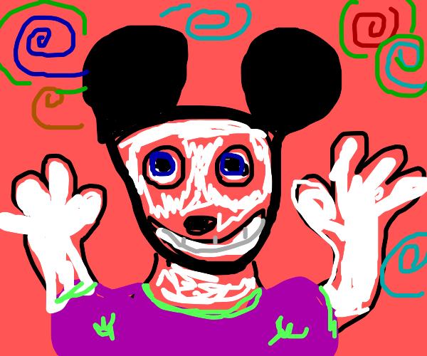 vibin mickey mouse