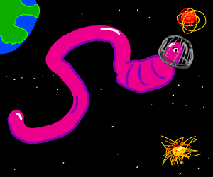 Worms In Space