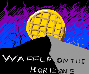 There's a waffle on the horizon