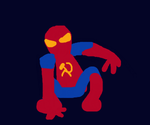 SPIDERMAN IS A COMMIE