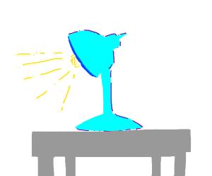 A Blue Lamp