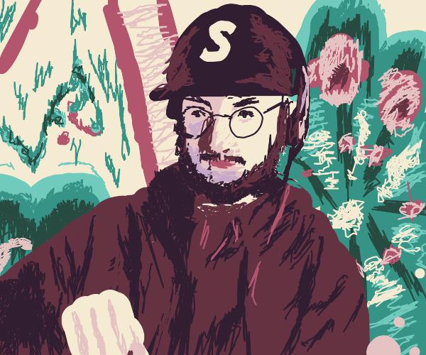 lofi hiphop beats with a scraggly beard