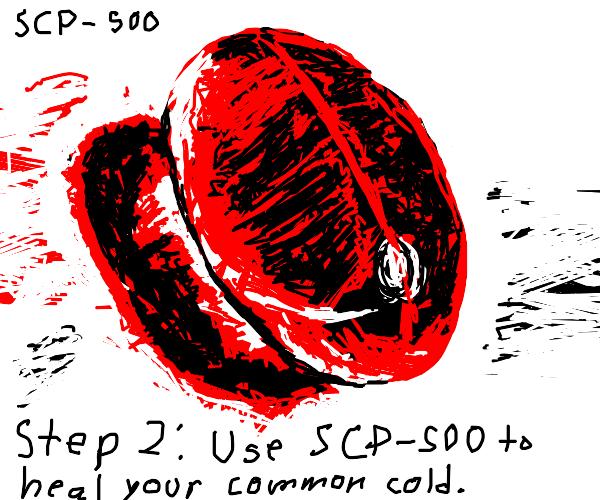 Step 1: Obtain SCP-500