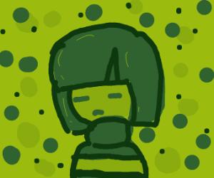 Undertale frisk or undertake green