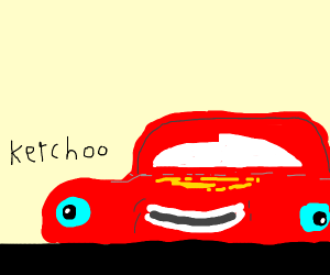 "Lightning McQueen ""kerchoo"""