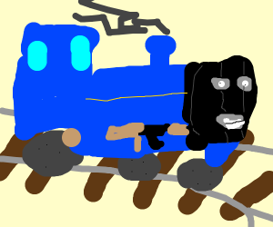 Thomas the train: great get-away driver