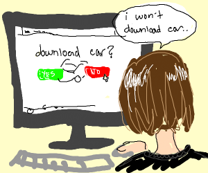 You wouldn't download a car.